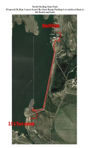 Proposed Run Course
